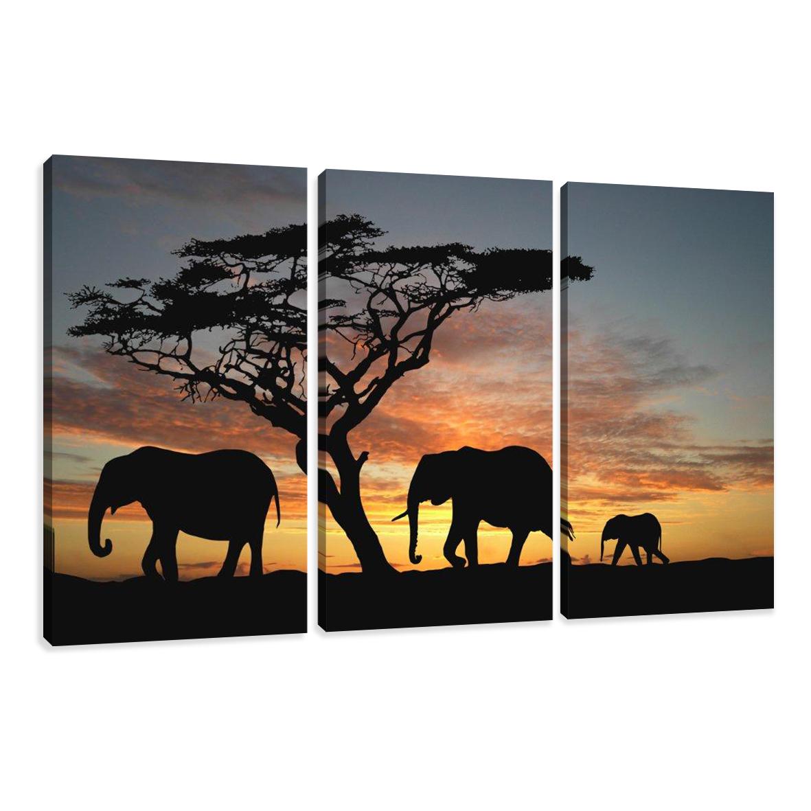 Leinwand wandbilder verschiedene bilder motive 160 x 90 cm for Tableau en 3 parties
