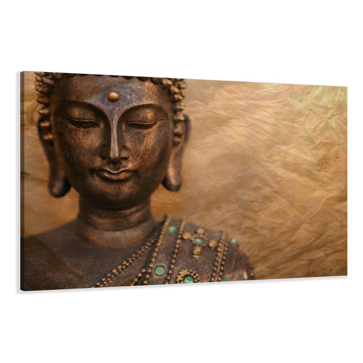 leinwand wandbilder bild buddha verschiedene gr en. Black Bedroom Furniture Sets. Home Design Ideas