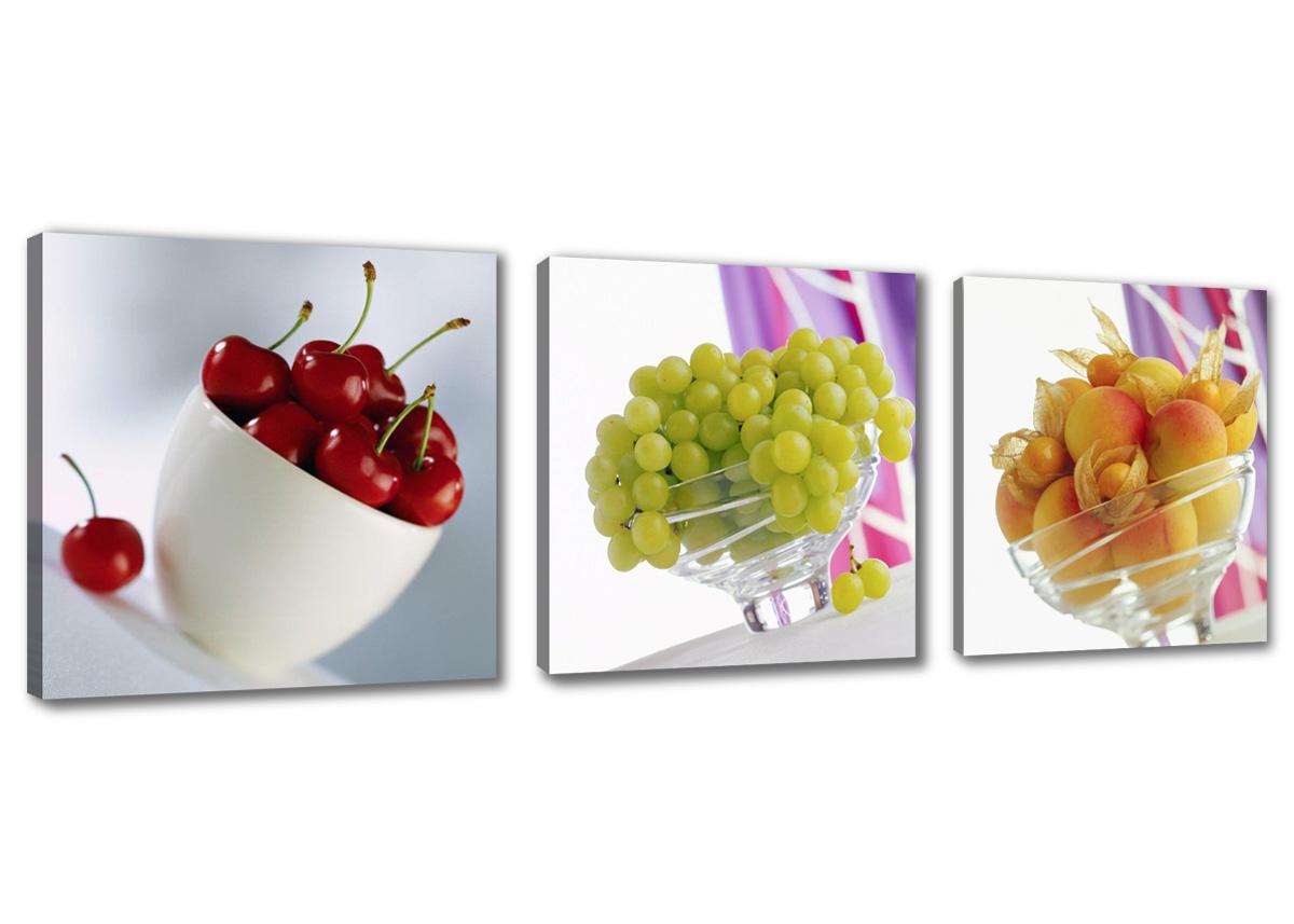 Leinwand wandbilder verschiedene bilder motive 150 x 50 cm - Quadri da cucina moderni ...