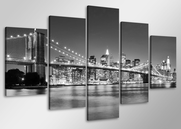 leinwand wandbilder bild new york usa versch gr kunstdruck 1552 d1 ebay. Black Bedroom Furniture Sets. Home Design Ideas