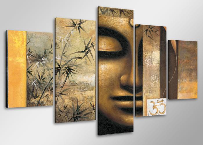 leinwand wandbilder bild buddha 2 verschiedene gr en. Black Bedroom Furniture Sets. Home Design Ideas