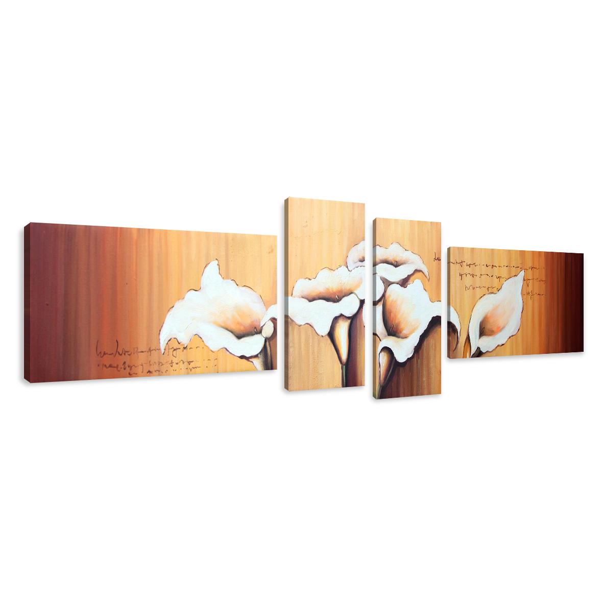 leinwand wandbilder verschiedene bilder motive 145 x 30 cm vierteilig 1584 d1 ebay. Black Bedroom Furniture Sets. Home Design Ideas
