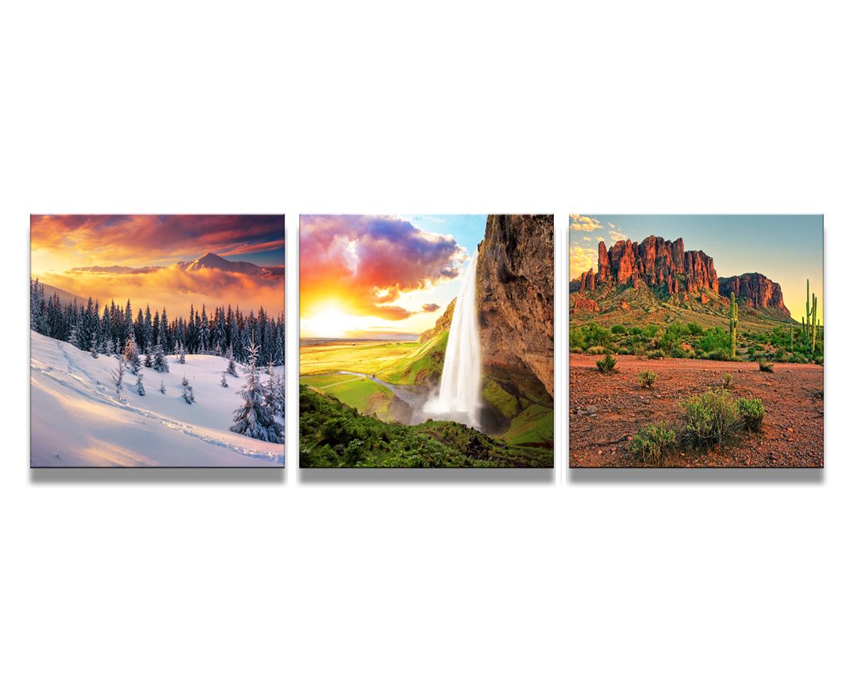 Bilder wandbilder auf rahmen gespannt marke visario 150x50 for Bilder wandbilder