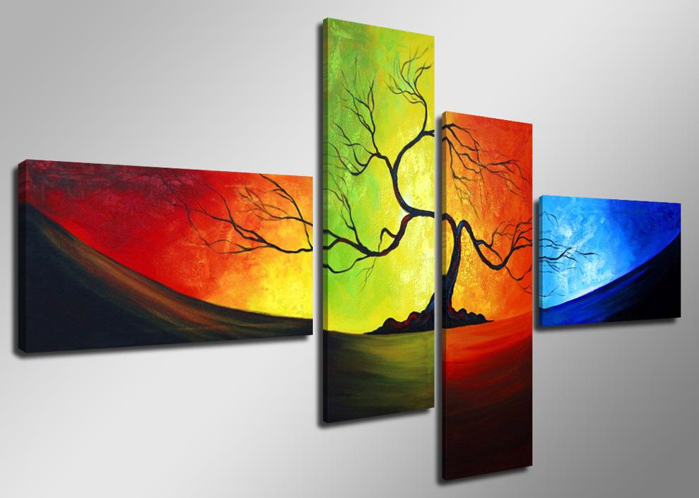 Leinwand Wandbilder Verschiedene Bilder Motive 160 X 70 Cm